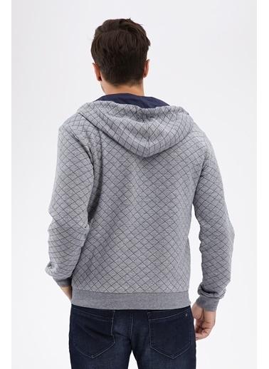 Avva Kapüşonlu Polar Sweatshirt Lacivert